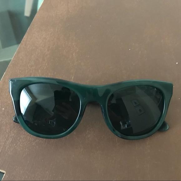 138683c36db Burberry Accessories - Dark Green Burberry Sunglasses
